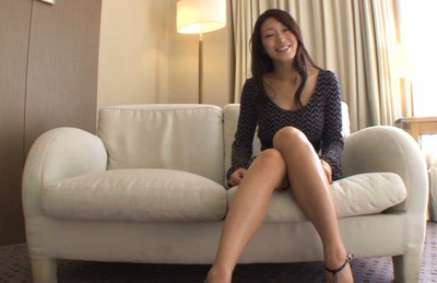 Reiko kobayakawa. Reiko Kobayakawa Asian with horny legs and large tits is kissed
